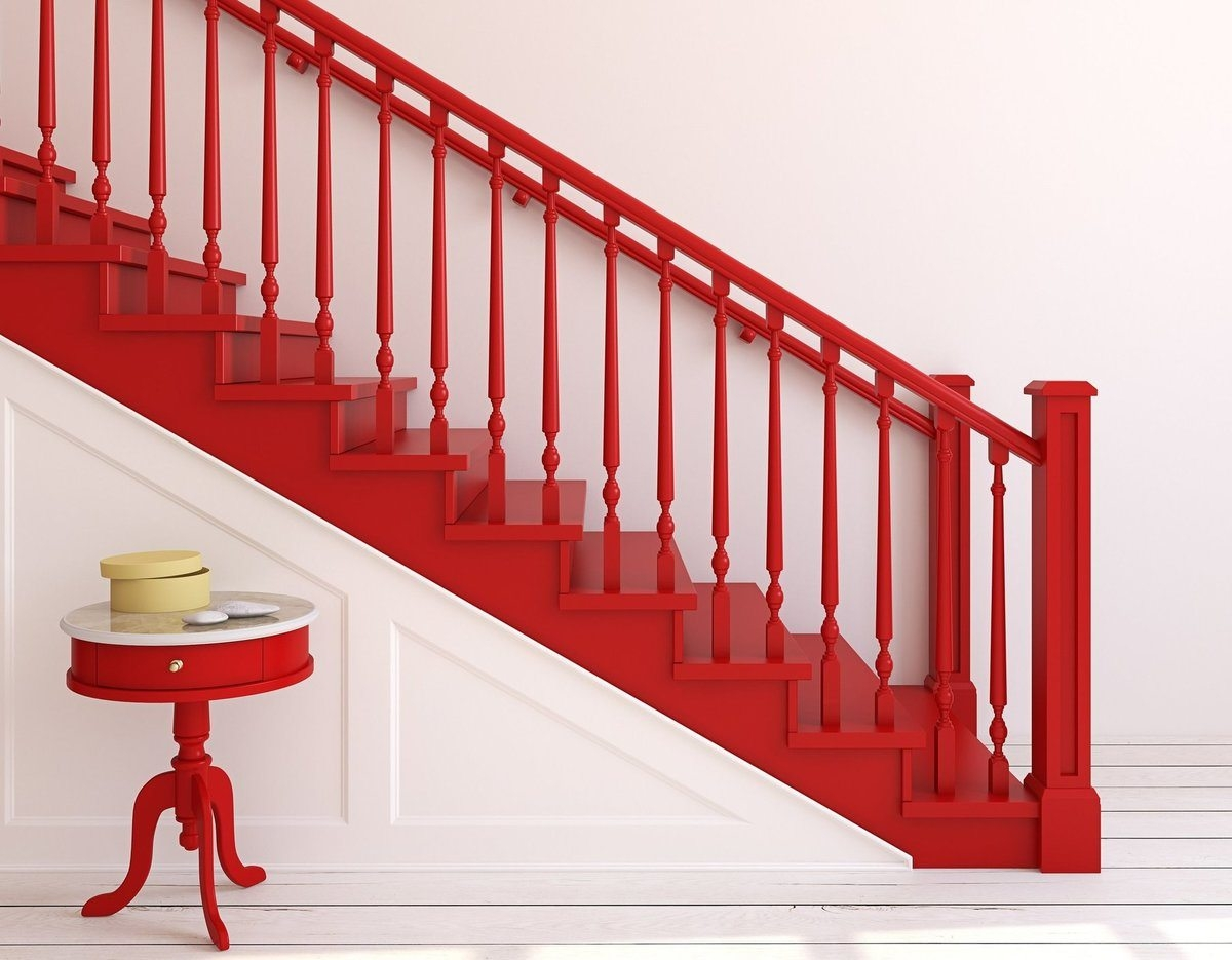 2020 Cost To Paint Stairway Cost To Paint Stair Risers   Stair Railing Cost Per Linear Foot   Glass Railing   Baluster   Cable Railing Systems   Stair Case   Wrought Iron Railings