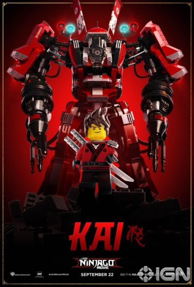 The LEGO Ninjago Movie gets a batch of character posters ...