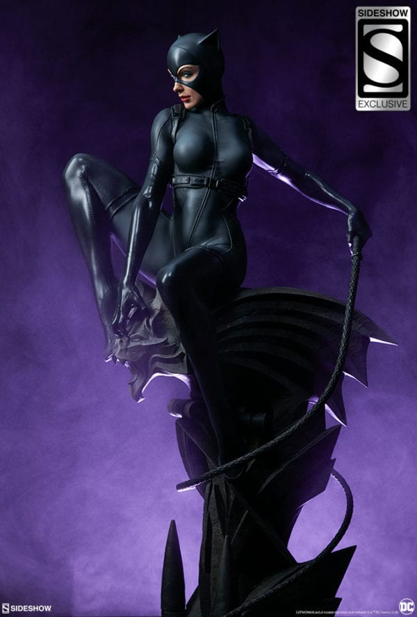 Catwoman gets a Premium Format Figure from Sideshow
