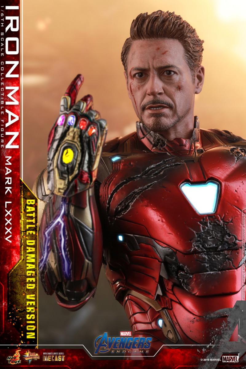 Hot Toys' Avengers: Endgame Battle Damaged Iron Man Movie ...