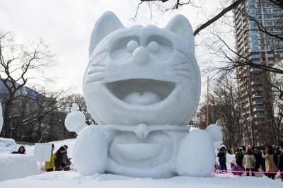 14 Incredible Photos From Japan's Sapporo Snow Festival ...