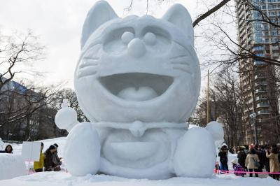 14 Incredible Photos From Japan's Sapporo Snow Festival ...