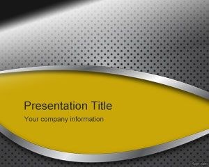 Free Metal Powerpoint Templates