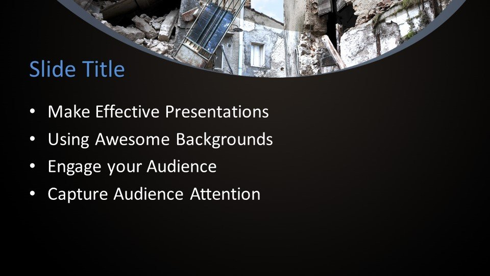 Free Disaster Management Powerpoint Template Free