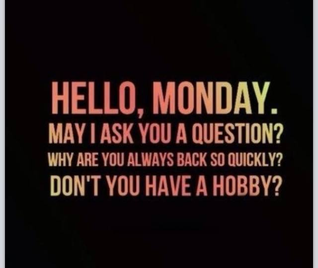 Funny Jokes About Monday