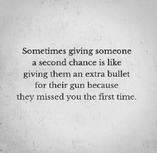 Giving Someone Second Chance Quotes