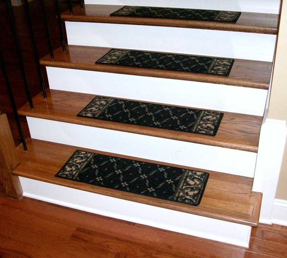 24 Perfect Images Stair Tread Ideas Gabe Jenny Homes | Prefinished Wood Stair Treads | Natural Red | Hardwood Lumber | Hardwood Flooring | Stair Nosing | Hickory