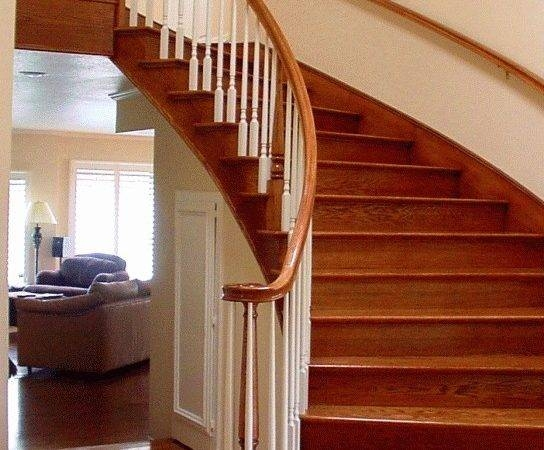 21 Best Wood For Stairs In The World Gabe Jenny Homes | Oak Stair Treads Lowes | Stairtek Retrotread | Unfinished Oak | Staircase Makeover | Stair Banister | Carpet Stair