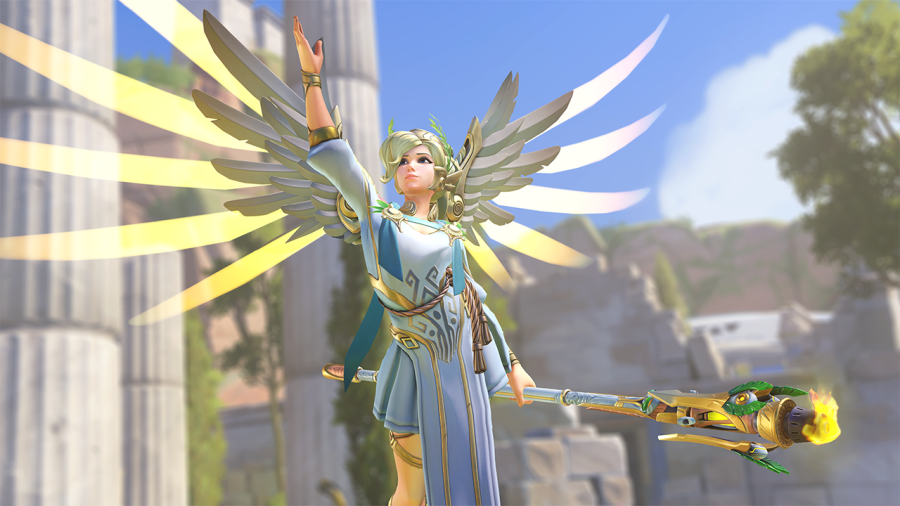 Overwatch Summer Games 2018    Update  Event has Ended  All Summer     Mercy s Overwatch Summer Games 2017 Legendary skin