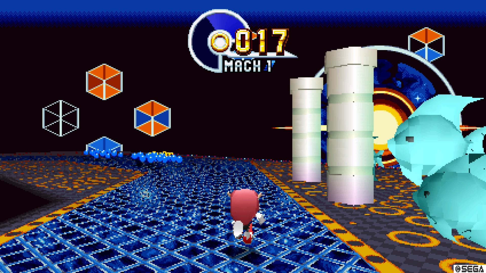 Sonic Mania Plus Presents a Mighty Challenge and a Little Ray of     Encore Mode doesn t just dress up the zones  Special and Bonus Stages get a  new look too   Bonus Stages are replaced with pinball in Encore Mode