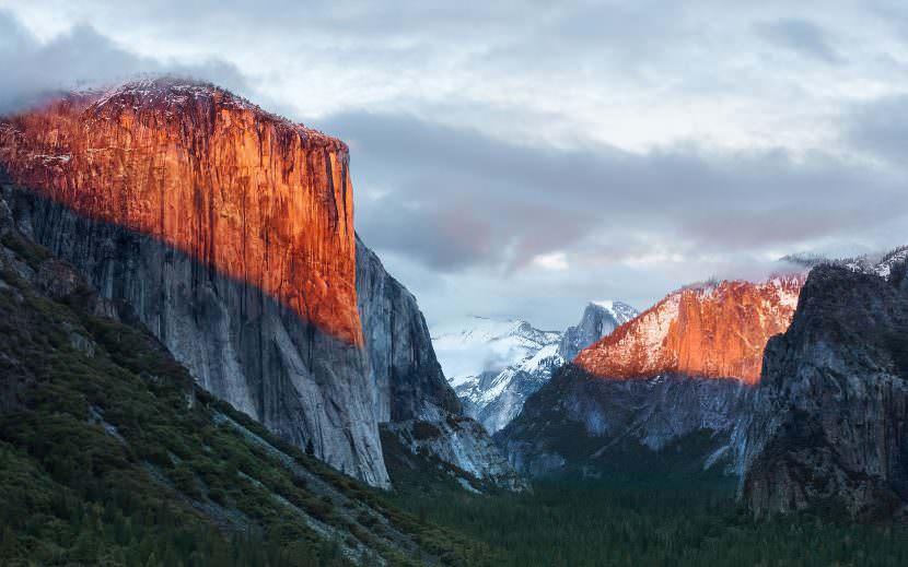 Yosemite Apple Wallpaper High Resolution