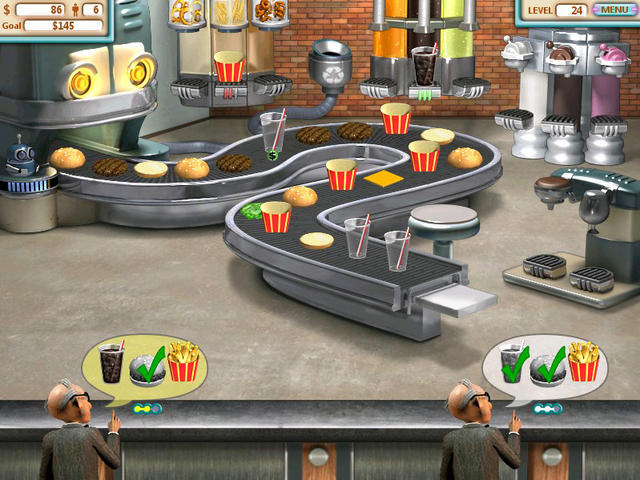 Games Burger Restaurant 1