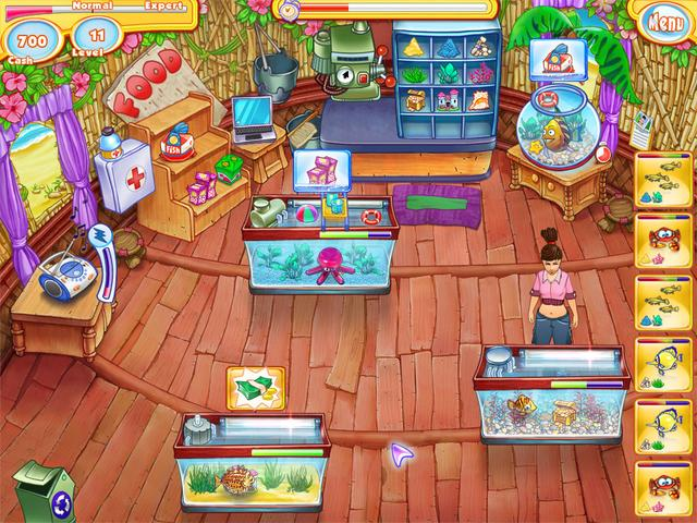 Fish Shop Games Online Free