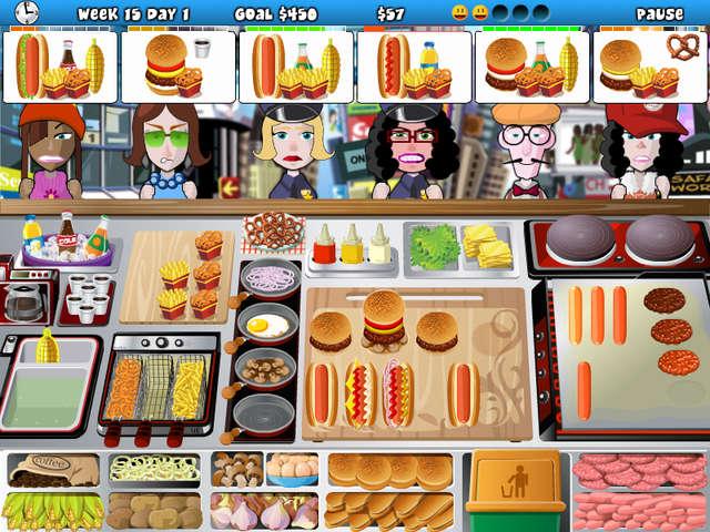 Free Online Games Time Management Restaurant