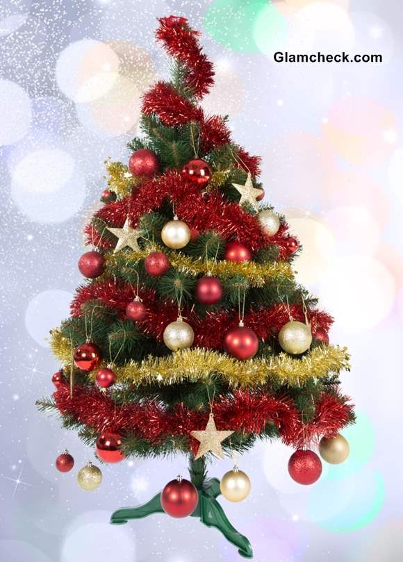 12 Christmas Trees Ornaments
