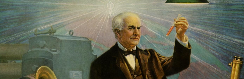 Thomas Edison S Invention Incandescent Light Bulb