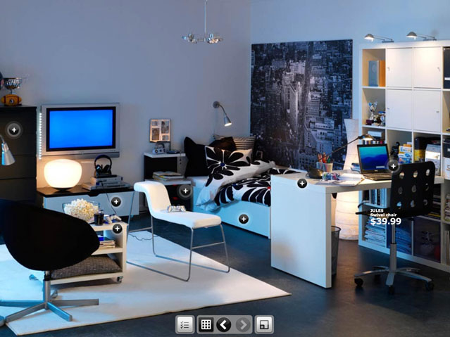 Dorm Room Inspirations From Ikea