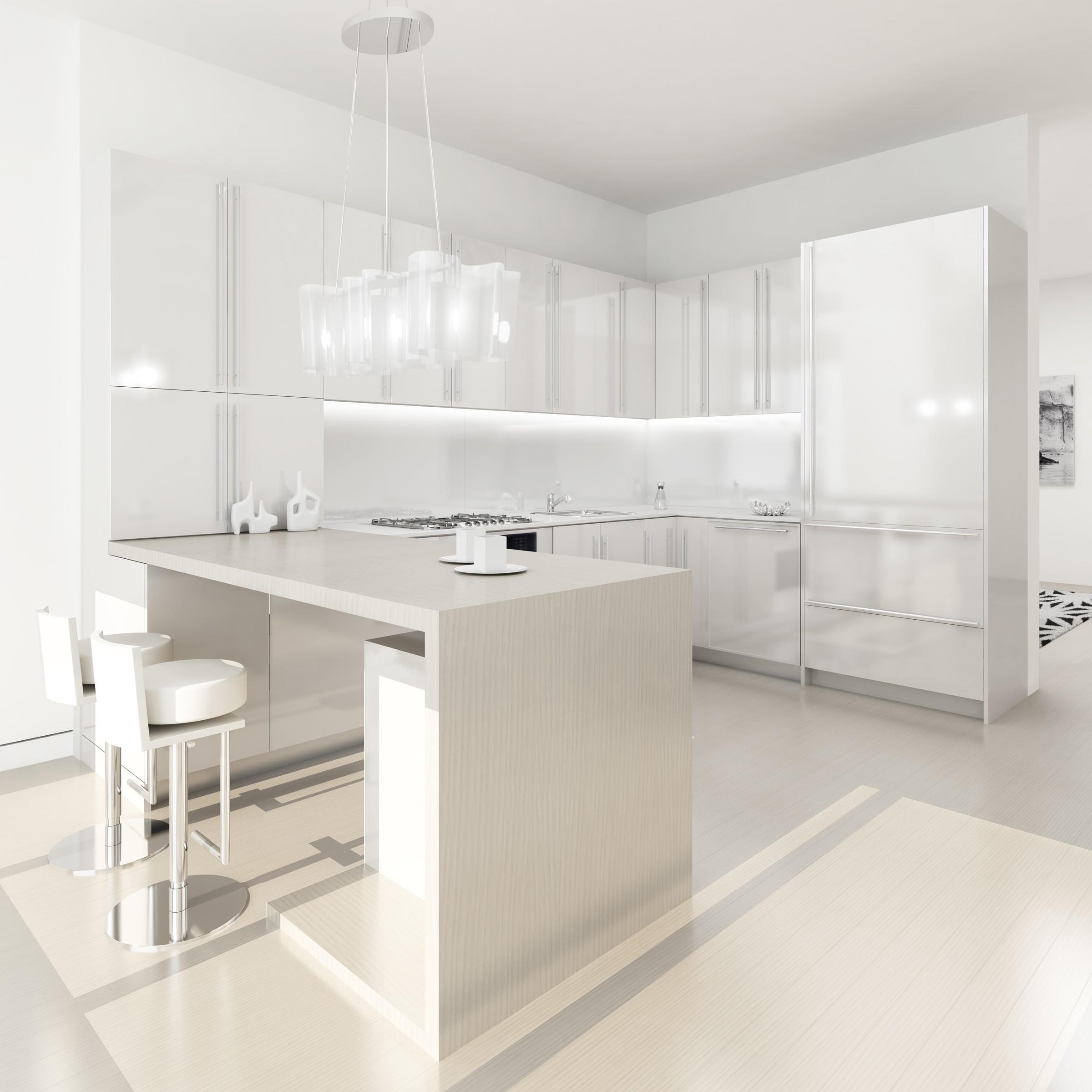 White Kitchen Modern Design