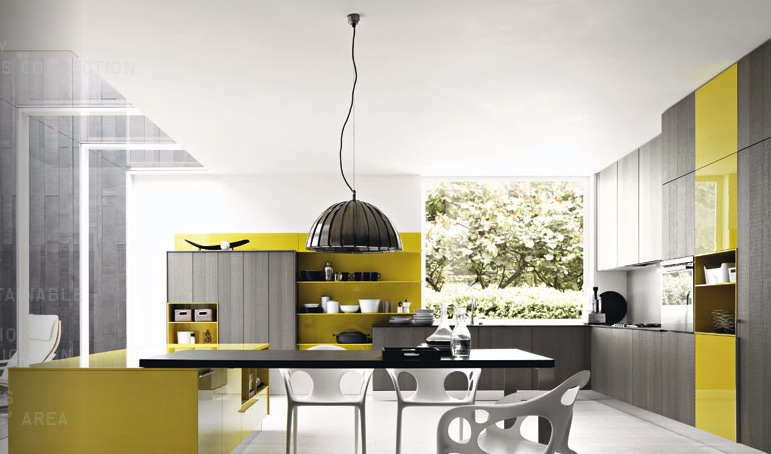 Yellow And Gray Kitchen Ideas
