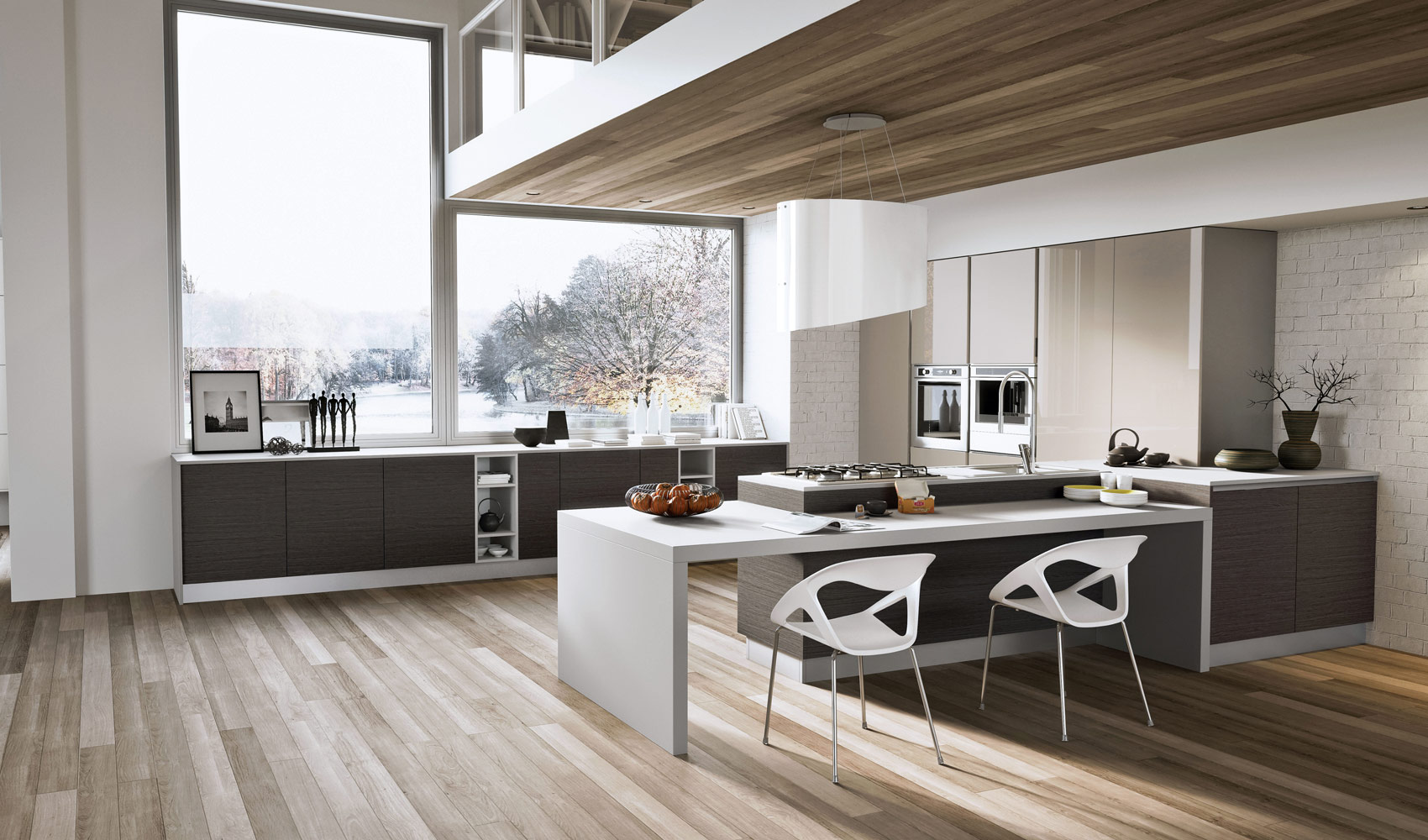 L Shaped Kitchen Units