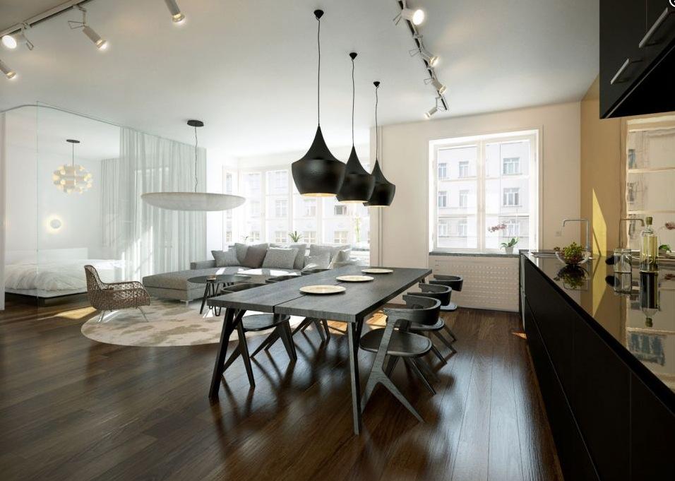 Open Plan Kitchen Diner Layout