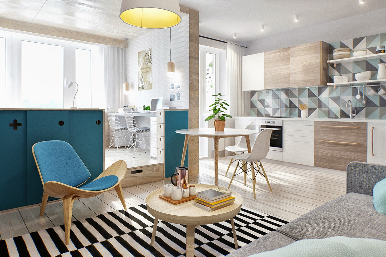 Studio Apartment Interior Design