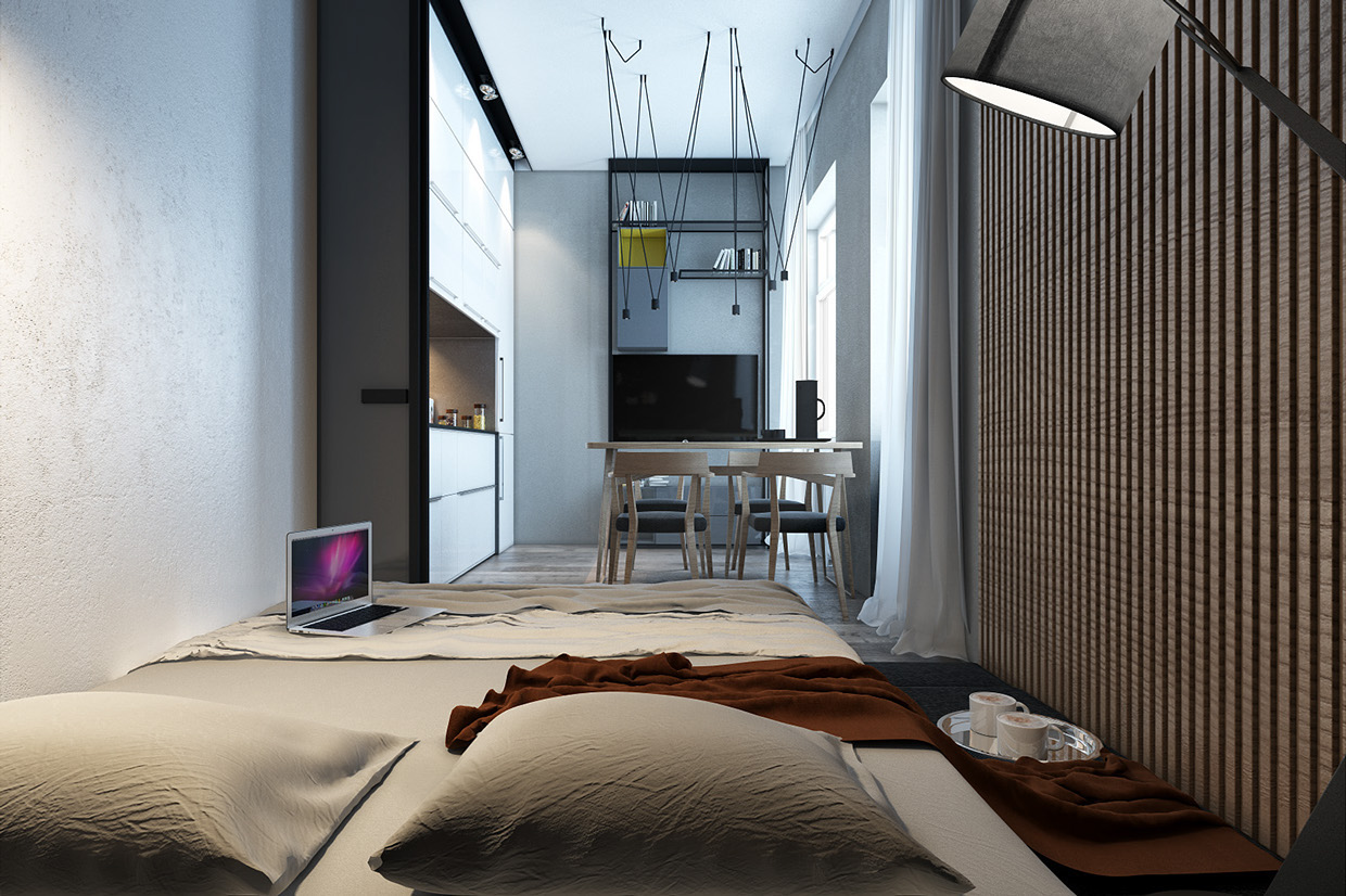 Designing For Small Spaces 3 Beautiful Micro Lofts