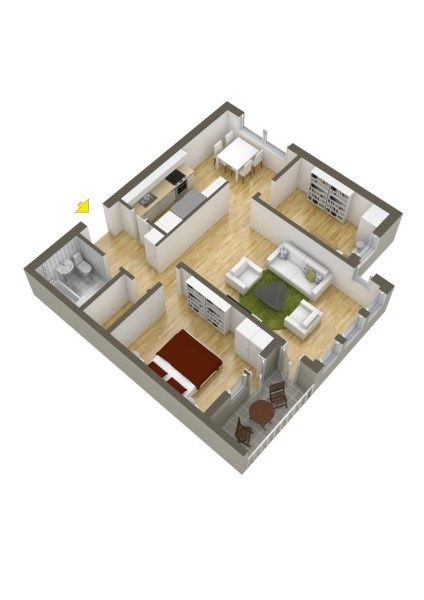 two bedroom house   Interior Design Ideas  Like Architecture   Interior Design  Follow Us