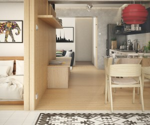 Interior Design Ideas   Home Decorating Inspiration 5 Small Studio Apartments With Beautiful Design
