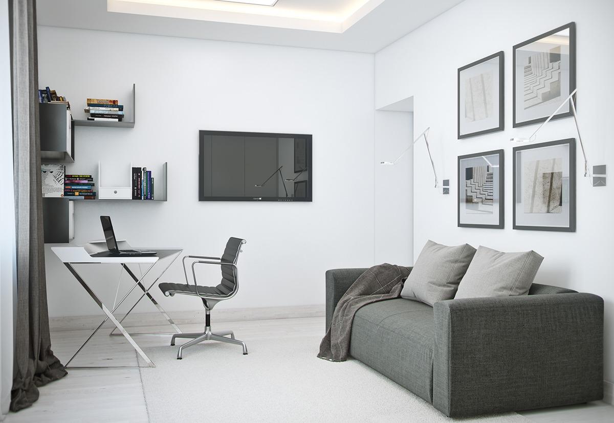 Brown Living Room Table