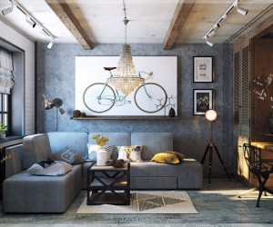 eclectic   Interior Design Ideas While each is eclectic