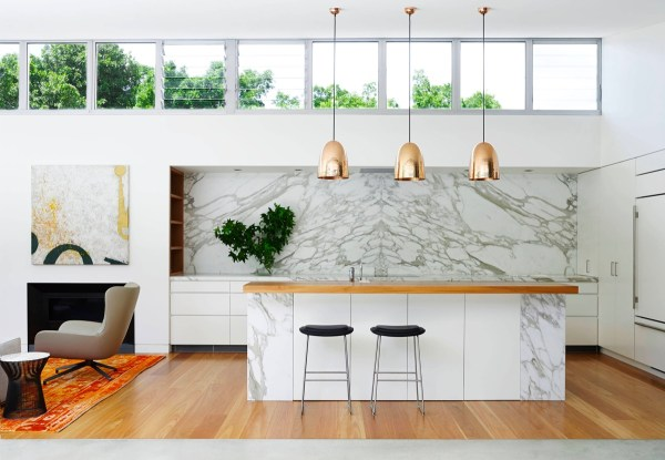 hanging lights over a kitchen island # 17