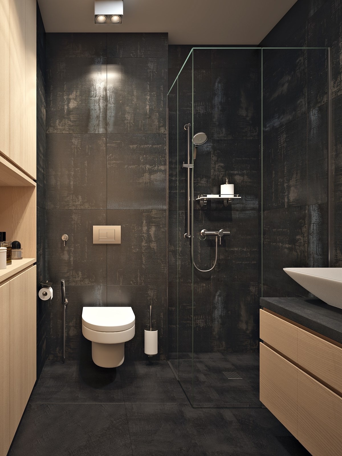 Floor Plans Compact Bathroom