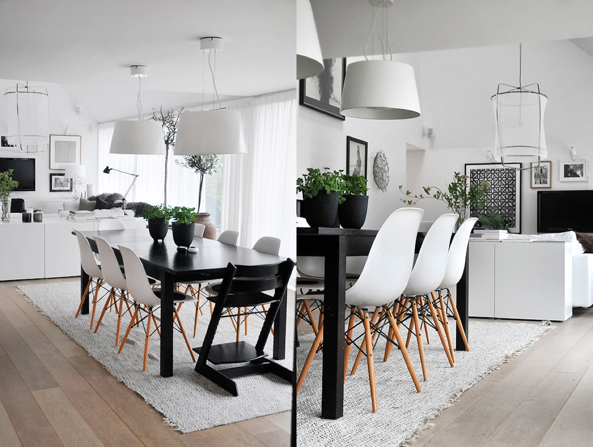 30 Black   White Dining Rooms That Work Their Monochrome Magic