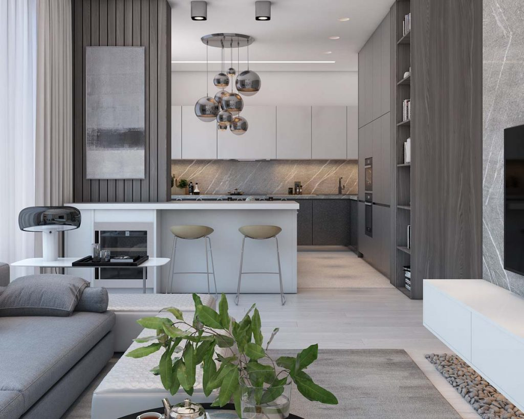A Simple Modern Apartment In Moscow
