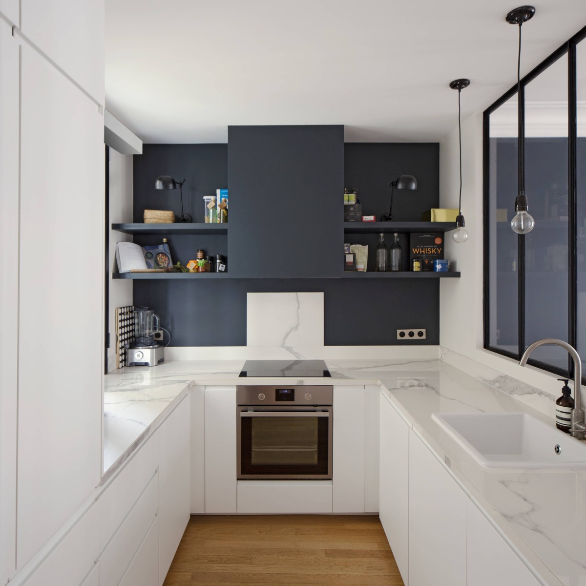 U Shaped Kitchen Plans