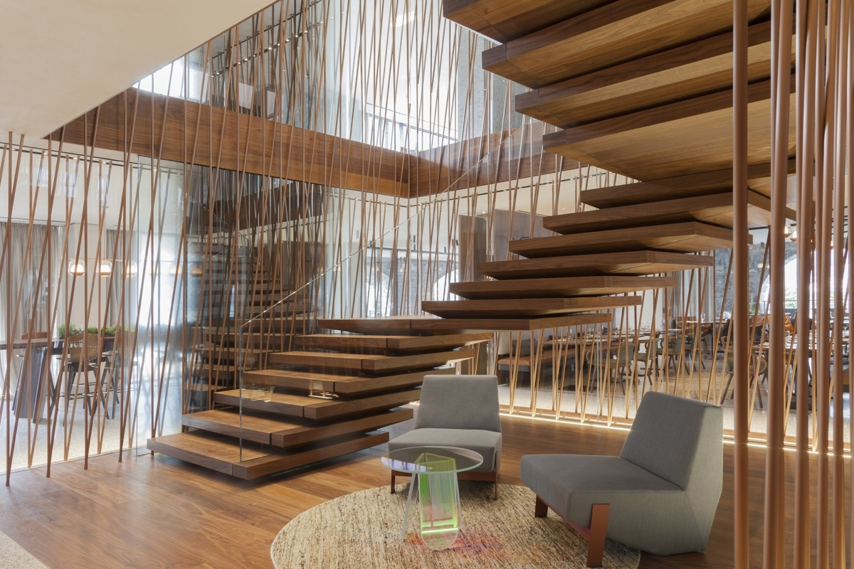 51 Stunning Staircase Design Ideas   Stairs Design In Lobby   Entrance Lobby   Foyer   Architectural   Circle Elevator Design Home   White