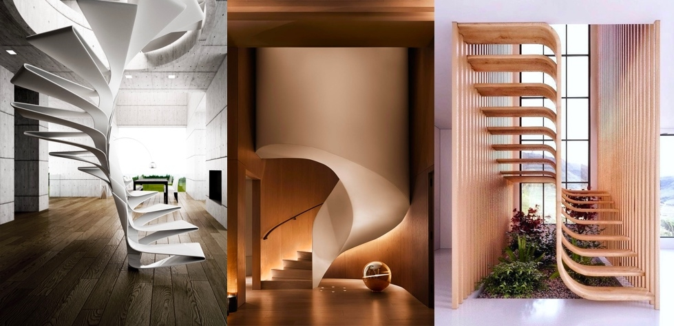 51 Stunning Staircase Design Ideas | Interior Staircase Design In Main Hall For Duplex House | Low Cost | Creative | Under House | 4 House Inside | Simple