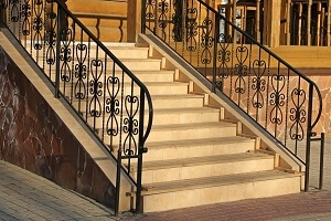 2020 Wrought Iron Railing Cost Install For Stair Porch Balcony | Outdoor Stair Railings Near Me | Porch Railings | Front Porch | Composite | Metal Stair | Stair Treads