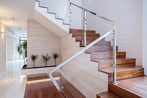 2020 Glass Deck Stair Railing Costs Per Foot Homeadvisor | Outdoor Stair Railing Installers Near Me | Transitional Handrail | Cable Railing | Glass Railing | Porch Railing Kits | Vinyl Railing
