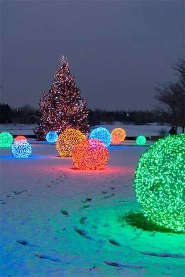 Outdoor Christmas Light Ideas