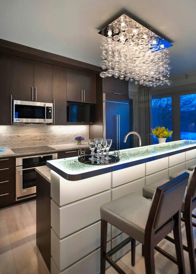 Led Light Fixtures Kitchen