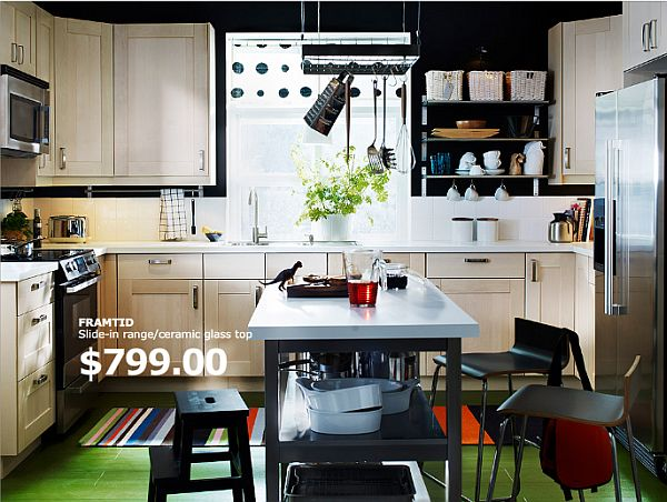 U Shaped Kitchen Designs Island