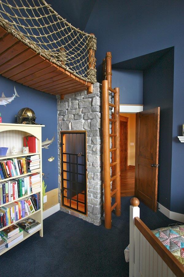 Amazing Pirate Ship Bedroom Design By Steve Kuhl