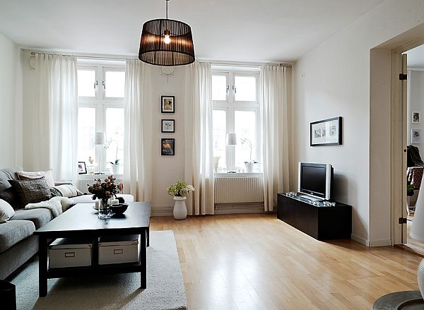 A warm interior design with ikea furniture View in gallery