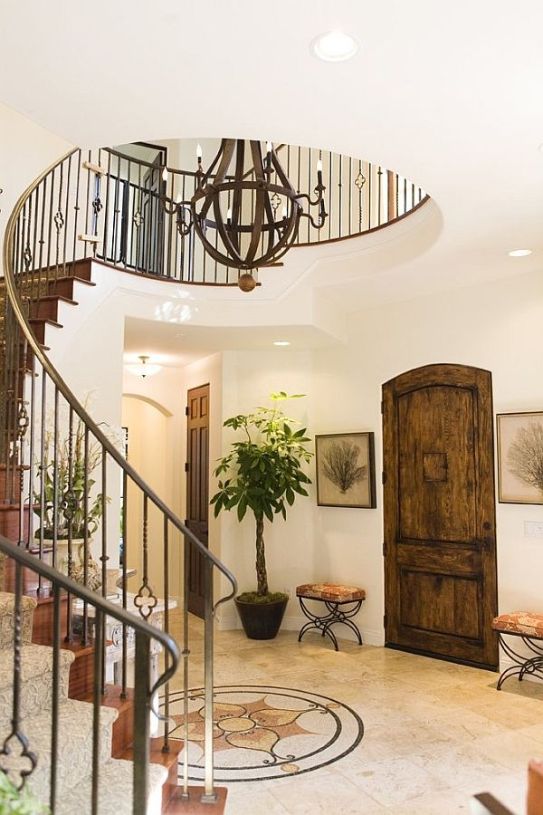 14 Staircases Design Ideas | Semi Spiral Staircase Design | Curved Staircase | Residential Library | Interior | Futuristic | Iron