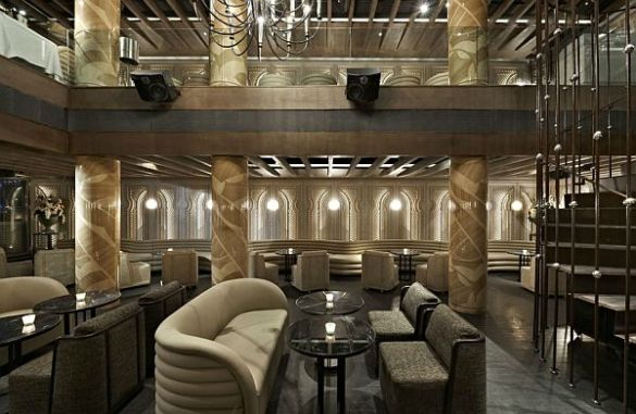 Luxurious Anjelique Restaurant Interior Design View in gallery