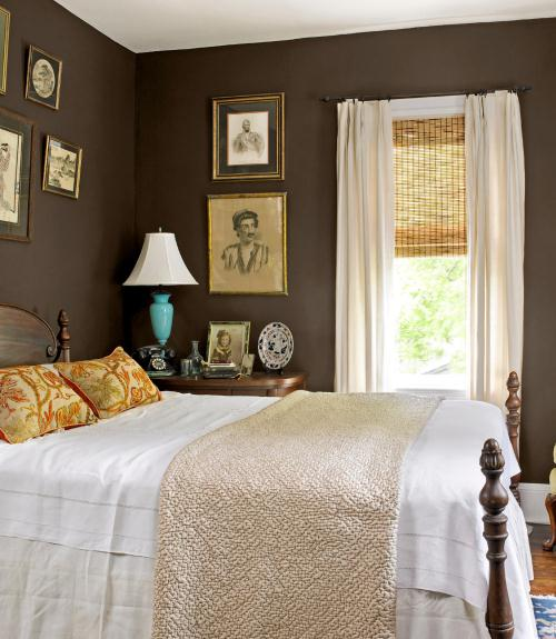 Chocolate Brown Bedrooms  Inspiration   Ideas View in gallery