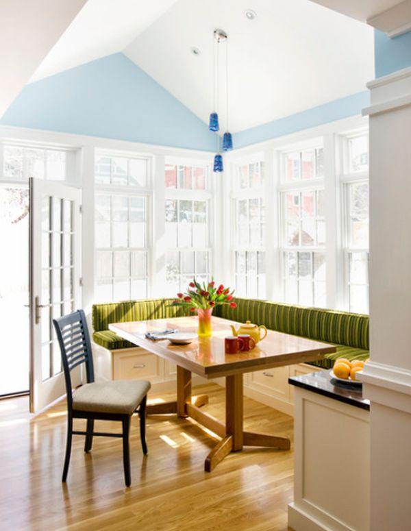 L Shaped Kitchen Breakfast Bar