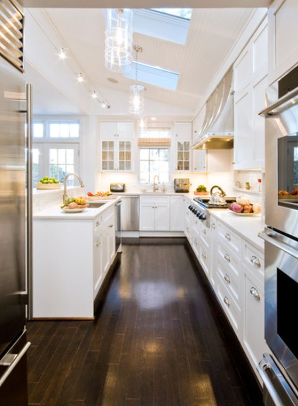 Long Kitchen Design Pictures